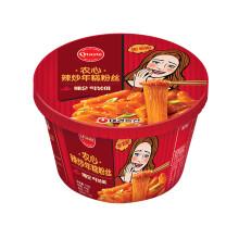农心 辣味年糕粉丝碗 方便面 128g 99元/10杯