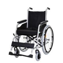 泰康 轮椅折叠轻便手动轮椅铝合金老人胖人轮椅车残疾人代步车4637