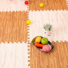 京东超市九洲鹿 地垫家纺 儿童卧室拼图地板宝宝爬行地毯 加厚拼接泡沫地垫榻榻米  30*30cm 9个装