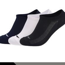 李宁 LI-NING 男子训练系列浅口袜隐身袜三双装AWSN229-1 000