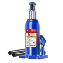 通润(TORIN)蓝色立式液压千斤顶 汽修工具 面包车SUV车用换轮胎起重工具 3吨