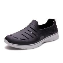 斯凯奇(Skechers)轻质涉水洞洞休闲凉鞋 54271 黑色 39.5