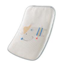京东超市 好孩子gb 婴儿枕头 儿童枕头 硅胶枕 蓝色 丛林派对冰丝夏凉枕-蓝