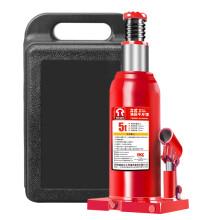 通润(TORIN)红色低位立式液压千斤顶 汽修工具 小车轿车面包车用换轮胎起重工具 5吨带塑盒