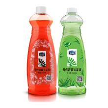 E路驰 天然柑橘芦荟洗车液 高浓缩香波泡沫清洗剂