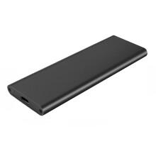 M.2 NVME转USB3.1移动硬盘盒 M2 PCIE接口SSD固态转换Type-C雷电3 黑色