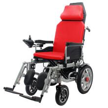 凯洋电动轮椅全躺可平躺高靠背骨科腿扶手可拆折叠轻便家用医用老人残疾人智能全自动代步轮椅车 全躺高靠背小轮 12AH铅酸