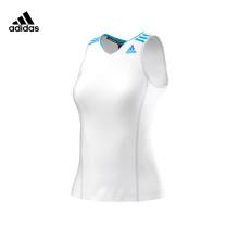 阿迪达斯背心女款白色针织G88779 XL码