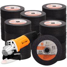 工蜂 WORKERBEE角磨机切片100型切割片双网砂轮片不锈钢 500片装金属切割片 ACCD105-500G