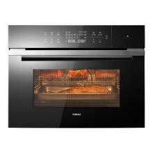 老板 Robam嵌入式蒸烤一体机家用烘焙多功能大容量智能烤箱蒸箱二合一C973A