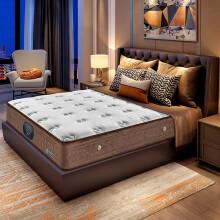 金海马(kinhom)防螨乳胶棉床垫床褥 双人 七区独立袋静音 席梦思弹簧床垫1.8米X2米X0.22米 WL029