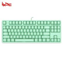 ikbc F200 机械键盘 有线键盘 游戏键盘 87键 单背光 cherry轴 吃鸡神器 背光键盘 笔记本键盘 绿色 红轴348元