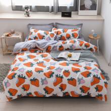 单人床三件套 北欧床上用品床单网红1.5m被套三件套学生宿舍单人 悉尼 1.5米床四件套