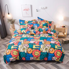 单人床三件套 北欧床上用品床单网红1.5m被套三件套学生宿舍单人 翠绿色 1.5米床四件套