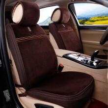 尼罗河(NILE)冬季座垫 纯羊毛冬季保暖座垫 适用于90%以上车型 名仕风范-摩卡棕