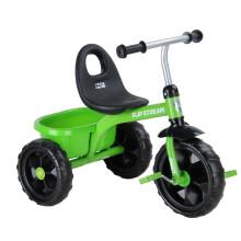 小龙哈彼(Happy dino)儿童三轮车1.5-3岁玩具童车带篮筐小孩宝宝脚踏自行车 绿色绿色LSR300-W-M105