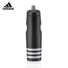 阿迪达斯(adidas)健身运动水壶水杯户外骑行便携式大容量挤压水瓶 900ml ADBT-16001BK