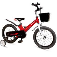 京东超市 凤凰(Phoenix)儿童自行车男童女童小孩单车脚踏车3-4-6-10岁小学生幼儿宝宝童车18寸 探戈红 14寸-探戈红