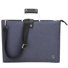 爱华仕(OIWAS) 商务电脑包14英寸 简约轻薄男单肩包3083蓝色