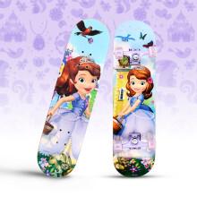 迪士尼(Disney)休闲滑板儿童四轮全闪刷街双翘板公路板索菲亚DCD71194-Y