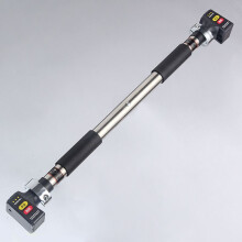天扬 不锈钢门上单杠 0.7-2米 防反转家用室内引体向上器 加长 健身器材墙体简易单杆 不锈钢经典款83-130公分防锈防弯曲