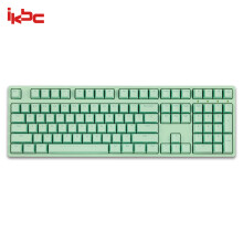 ikbc W210 机械键盘 2.4G无线 游戏键盘 108键 原厂cherry轴 樱桃轴 无线机械键盘 绿色 红轴379元
