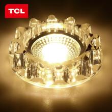 京东超市 TCL照明LED牛眼灯射灯简约现代高端阳台过道玄关水晶吸顶灯玄关灯过道灯 售罄2