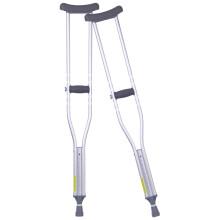 优康德腋下拐杖加厚铝合金防滑高低可调医用�收瓤缮焖跻腹罩�行器UKD-2002NE双拐