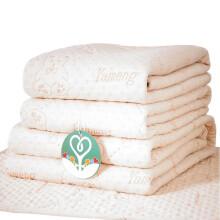 好奇鱼 婴儿隔尿垫巾 新生儿隔尿垫大号可机洗 防水透气宝宝隔尿床垫 四层加厚 大号 110*60cm