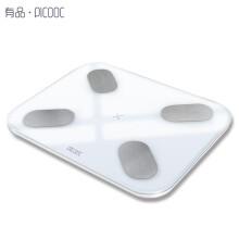有品(PICOOC)体脂秤Mini pro 电子秤人体秤 智能蓝牙APP 加大秤面减肥秤精准称体重脂肪测量仪家庭版
