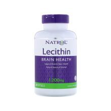 京东国际Natrol 卵磷脂软胶囊 Natrol  支持大脑和心脏健康 120粒