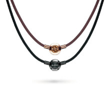 phiten法藤日本品牌METAX项环美钛克颈椎项圈羽生结弦 黑色45cm