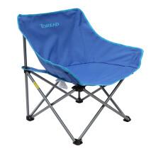 探路者折叠椅户外沙滩折叠钓鱼便携椅子露营椅子 ZEAF80202 通款 靛蓝