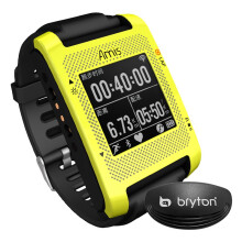 Bryton百锐腾Amis S430H智能GPS马拉松跑步表 中文夜光防水配速训练运动表 含心率带(黑色表带)