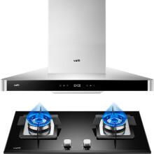 华帝(VATTI)大吸力 高频自动洗 20立方米瞬吸 欧式抽油烟机灶具套装(天然气) CXW-228-i11069