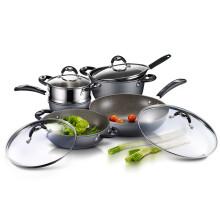 爱仕达厨房烹饪锅具 ASD 大理石硬养新不粘五件套 电磁炉通用 PL05B1Q