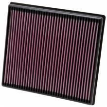 美国K&N 宝马X1 X3 X5 X6  KN高流量风格空滤空气格空气滤芯进气滤清 X3 35I 3.0
