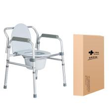 优康德可折叠坐便椅加厚铝合金老人坐厕椅孕妇座便椅大便椅 坐便椅UKD-5206F