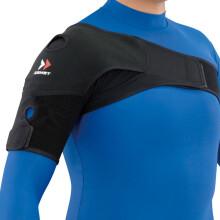 赞斯特(ZAMST) 赞斯特 ZAMST肩部固定带 专业运动护肩 保护肩部 防止受伤 黑色 L