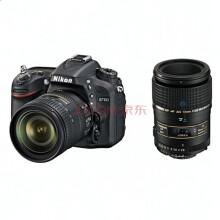 尼康(Nikon) D7100 单反双头套(尼康16-85mm+腾龙AF 90mm 微距)