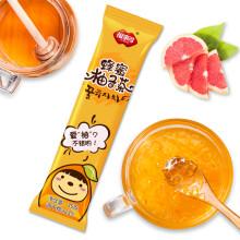 福事多蜂蜜柚子茶35g/条 小袋便携条装 韩国风味水果茶冲泡饮品