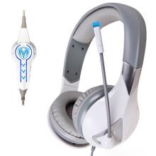 硕美科(SOMIC) G945炫灯版 头戴式 电脑游戏耳机耳麦 带线控 虚拟7.1声道 白色