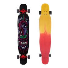 播零(Boiling)滑板 整板沸点滑板男女专业长板滑板公路滑板男女滑板 公路刷街代步板 舞板 音乐(48.375*9.5)