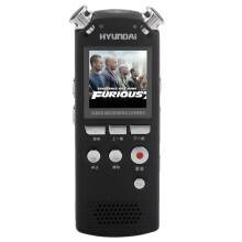 韩国现代(HYUNDAI)录音笔专业微型远距离降噪充电高清拍照摄像HYM-7028/8G黑色