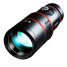 菲莱仕(FEIRSH)单筒望远镜 高倍高清非红外演唱会儿童观鸟寻星手机拍照望远镜全光学升级版T01红色