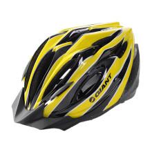 捷安特(GIANT)GX5头盔运动健身款安全头盔一体成型山地公路骑行头盔 黄/黑 L-XL