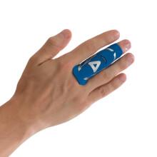 京东超市AQ篮球排球指关节护指运动护具蓝色直筒款B30912 S/M指围5.7-6.8cm  比较适合小指
