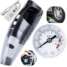 车志酷 CZK-6202 四合一多功能车载吸尘器12v大功率充气泵应急打气汽车用车内干湿两用车家两用吸尘器