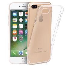 伟吉(WEIJI)iPhone7/8Plus透明手机壳 苹果8P透明手机壳 适用于5.5英寸iPhone7/8Plus