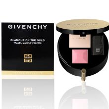 全球购              纪梵希(Givenchy) 香港地区直发Givenchy纪梵希 2017年限量圆形金色彩妆盘 月光宝盒